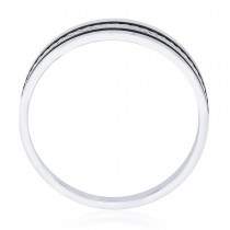 925 Sterling Silver Engraved Finger Ring for Men