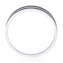925 Sterling Silver Engraved Finger Ring for Men