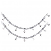 925 Sterling Silver Designer Anklet for women