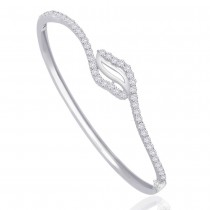 925 Sterling Silver Bangle For Women Silver