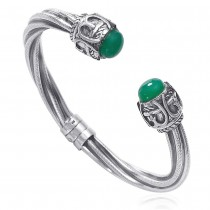 925 Sterling Silver Cuff & Kadaa For Women Silver