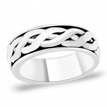 925 Sterling Silver Ring For Men Silver
