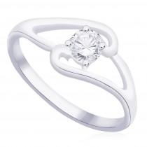 925 Sterling Silver CZ Finger Ring for women