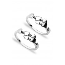 Top Openable 925 Sterling Silver Toe Ring For Women