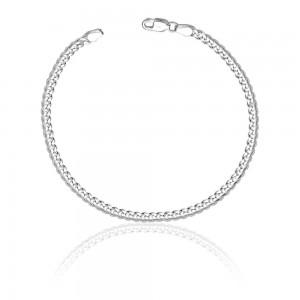 925 Sterling Silver Bracelet For Men Silver-ACDH1006C8HIN JOCACDH1006C8HIN