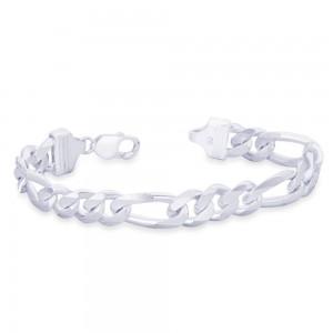 925 Sterling Silver Bracelet For Men Silver-AFGH3006C8HIN JOCAFGH3006C8HIN