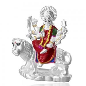 999 Silver Durga mata devi idol JOCGI1259EN