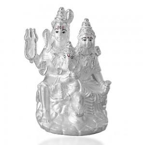 999 Silver Shiv Pariwar Idol JOCGI1379F