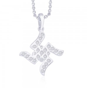 925 Sterling Silver Pendant For Unisex Silver JOCPD0630S