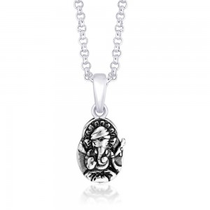 925 Sterling Silver Pendant For Unisex Silver